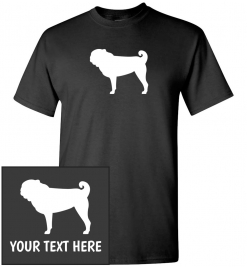 Pug Dog Custom T-Shirt