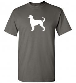 Afghan Hound Silhouette Custom T-Shirt