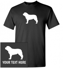 Saint Bernard Custom T-Shirt