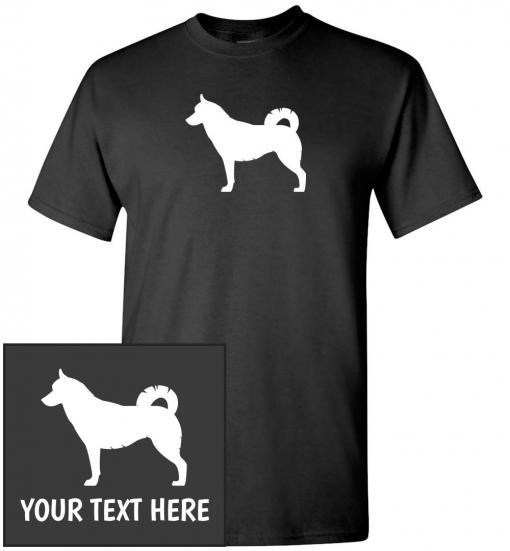 Siberian Husky T-shirt Dog Tee Cartoon