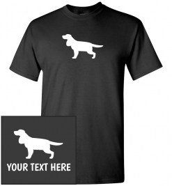 English Cocker Spaniel Custom T-Shirt