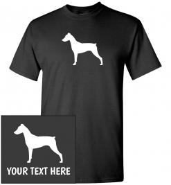 German Pinscher Custom T-Shirt