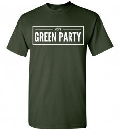 Vote Green Party T-Shirt