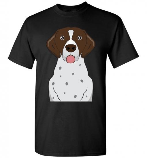 German Shorthaired Pointer Cartoon T-Shirt