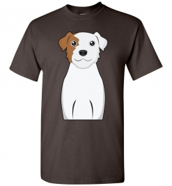 Parson Russell Terrier Cartoon T-Shirt