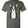 Boston Terrier Cartoon T-Shirt