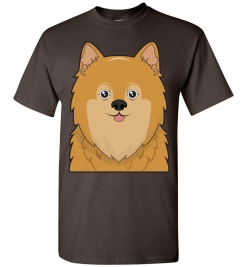 Pomeranian Cartoon T-Shirt