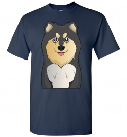Finnish Lapphund Cartoon T-Shirt