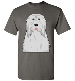 Bearded Collie Cartoon T-Shirt