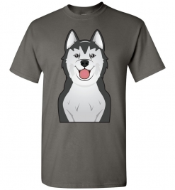 Alaskan Malamute Cartoon T-Shirt