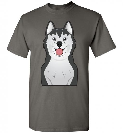 Alaskan Malamute Cartoon T-Shirt
