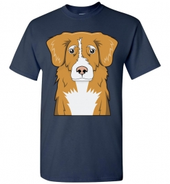 Nova Scotia Duck Tolling Retriever Cartoon T-Shirt