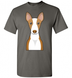 Ibizan Hound Cartoon T-Shirt