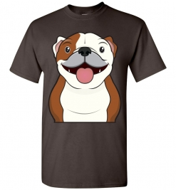Bulldog Cartoon T-Shirt