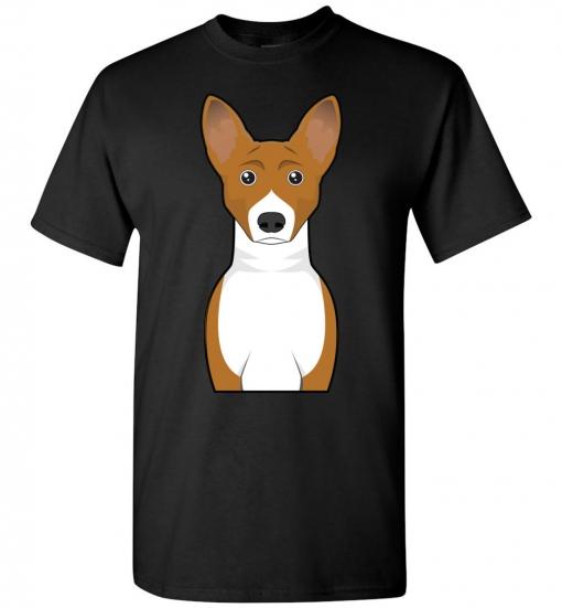 Basenji Cartoon T-Shirt