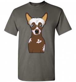 Chinese Crested Cartoon T-Shirt