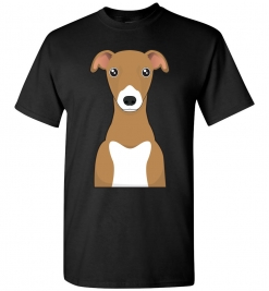 Italian Greyhound Cartoon T-Shirt