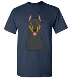 Doberman Cartoon T-Shirt