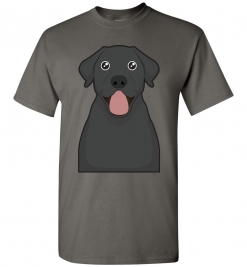 Black Lab Cartoon T-Shirt