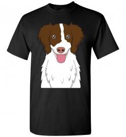 English Springer Spaniel Cartoon T-Shirt