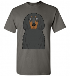 Gordon Setter Cartoon T-Shirt