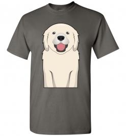 Golden Retriever Cartoon T-Shirt