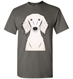 Saluki Cartoon T-Shirt