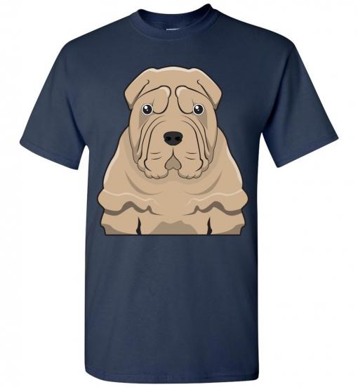Chinese Shar Pei Cartoon T-Shirt