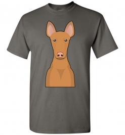 Pharaoh Hound Cartoon T-Shirt