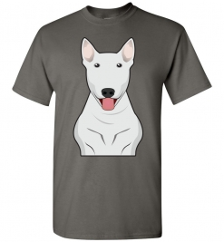 Bull Terrier Cartoon T-Shirt