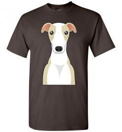 Whippet Cartoon T-Shirt