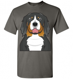 Bernese Mountain Cartoon T-Shirt