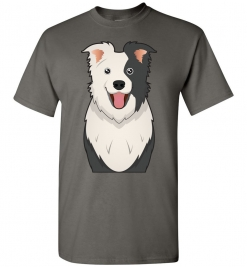 Border Collie Cartoon T-Shirt