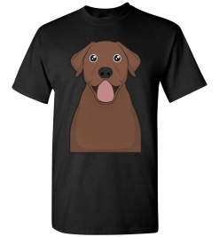Chocolate Lab Cartoon T-Shirt