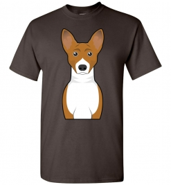 Basenji Cartoon T-Shirt