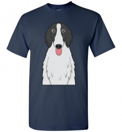 Borzoi Cartoon T-Shirt