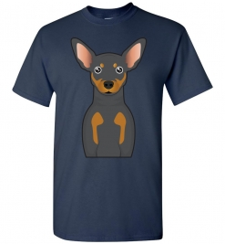 Miniature Pinscher Cartoon T-Shirt