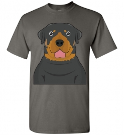 Rottweiler Cartoon T-Shirt