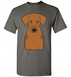 Rhodesian Ridgeback Cartoon T-Shirt