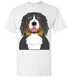 Bernese Mountain Cartoon T-Shirt