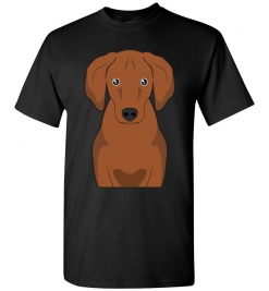 Redbone Coonhound Cartoon T-Shirt
