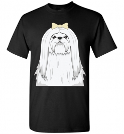 Maltese Cartoon T-Shirt