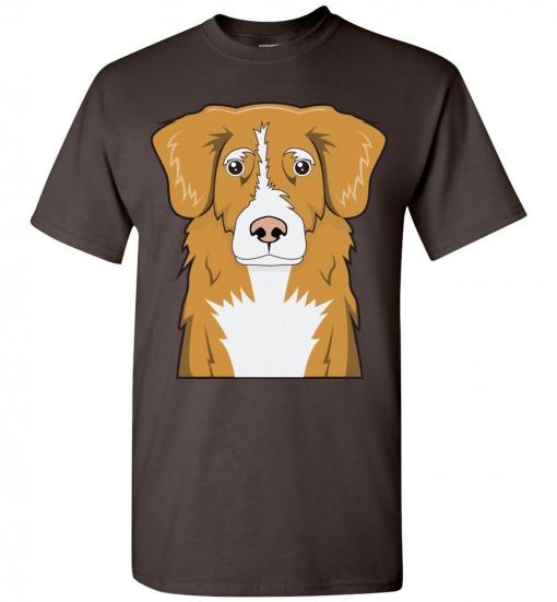 Nova Scotia Duck Tolling Retriever Cartoon T-Shirt