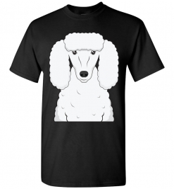 Poodle Cartoon T-Shirt