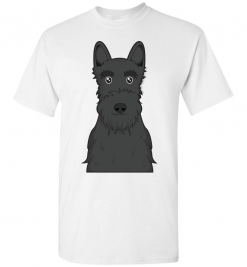 Scottish Terrier Cartoon T-Shirt