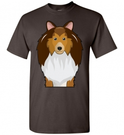 Shetland Sheepdog Cartoon T-Shirt