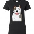 Pit Bull Cartoon T-Shirt