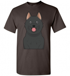 Schipperke Cartoon T-Shirt