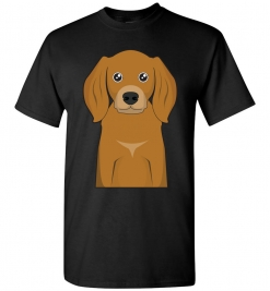 American English Coonhound Cartoon T-Shirt