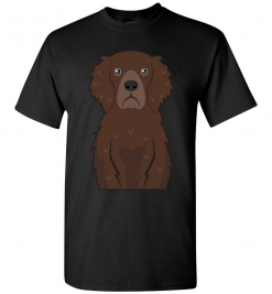 Curly Coated Retriever Cartoon T-Shirt